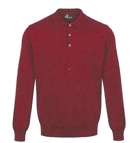 3 Button Polo - 100% Pure Merino Wool