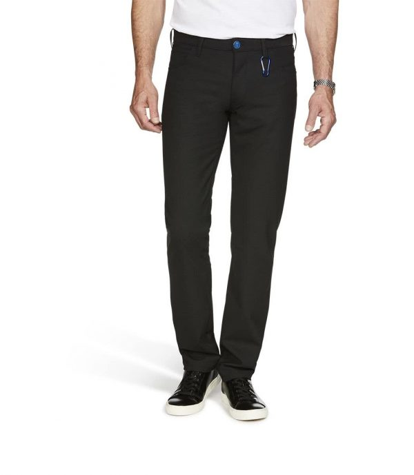 M5 Regular bi-stretch wool five pocket trousers 6160