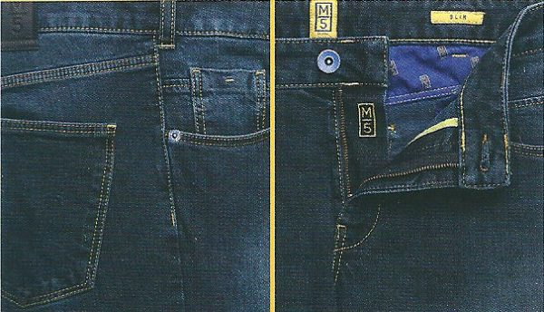 M5 Slim stretch cross denim chinos 6207