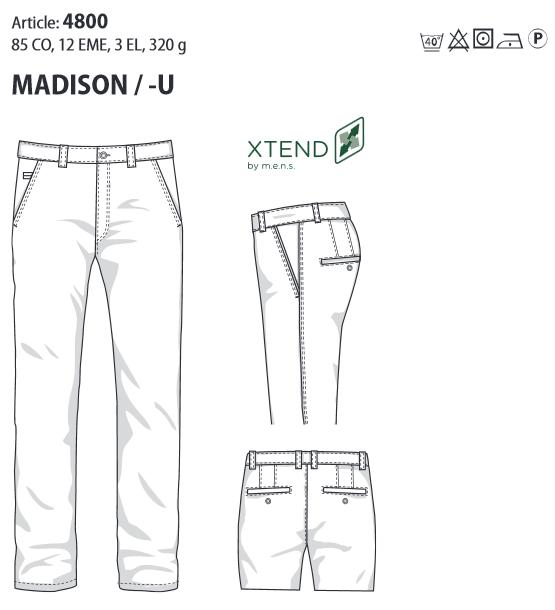 MADISON Modern Fit 4800