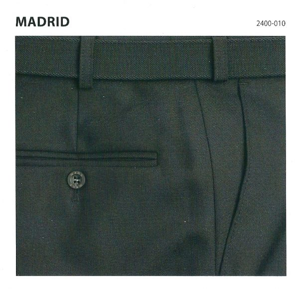 MADRID Comfort Fit Trousers 2400