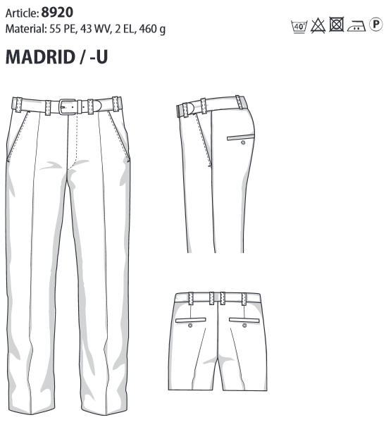 MADRID Comfort Fit 8920