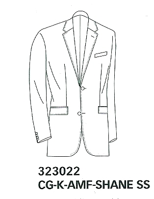 MODERN FIT MARZOTTO SUPER 110'S SUIT 60-045N1