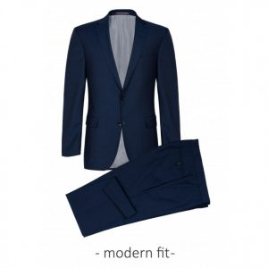 MODERN FIT REDA SUPER 110'S SUIT WITH WAISTCOAT 50-041N0