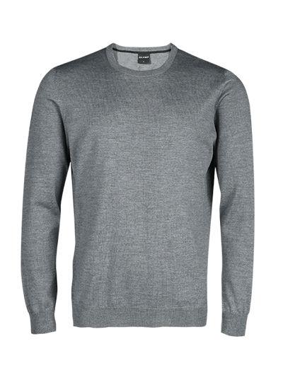 OLYMP Extra fine merino wool Crew neck sweater