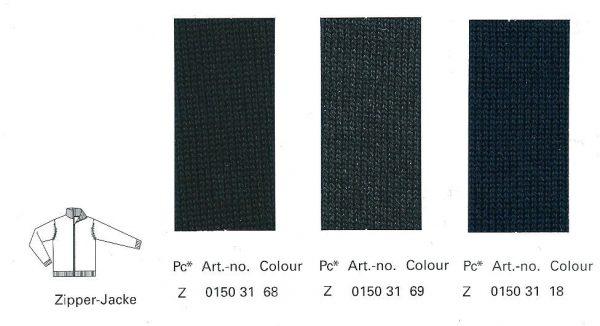 OLYMP Extra fine merino wool Zip-up