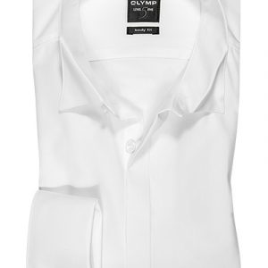 OLYMP Level 5 soiree Uni body fit Wing Collar