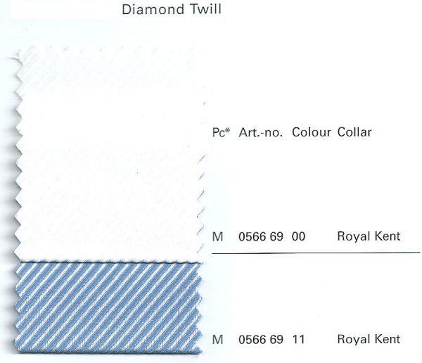 OLYMP Level Five Extra Long Sleeve Diamond Twill Royal Kent