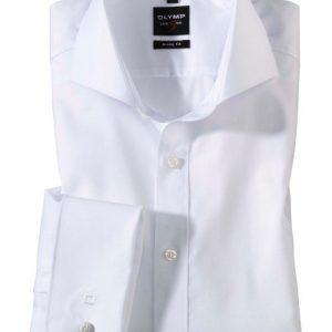 OLYMP Level Five Extra Long Sleeve Uni Double Cuff Cutaway