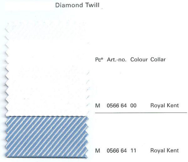 OLYMP Level Five Long Sleeve Diamond Twill Royal Kent