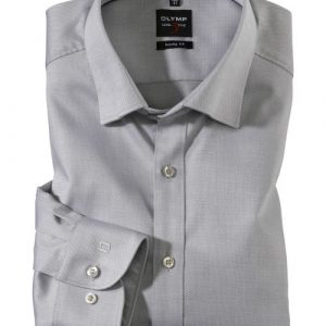 OLYMP Level Five Long Sleeve Diamond Twill Under Button-Down