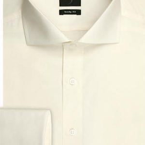 OLYMP Level Five Long Sleeve Uni Double Cuff Cutaway