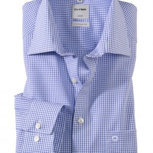 OLYMP Luxor Comfort Fit Neat Check New Kent
