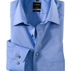 OLYMP Luxor modern fit Ex. Long Sleeve Chambray New Kent
