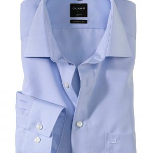 OLYMP Luxor modern fit Ex. Short Sleeve Chambray New Kent