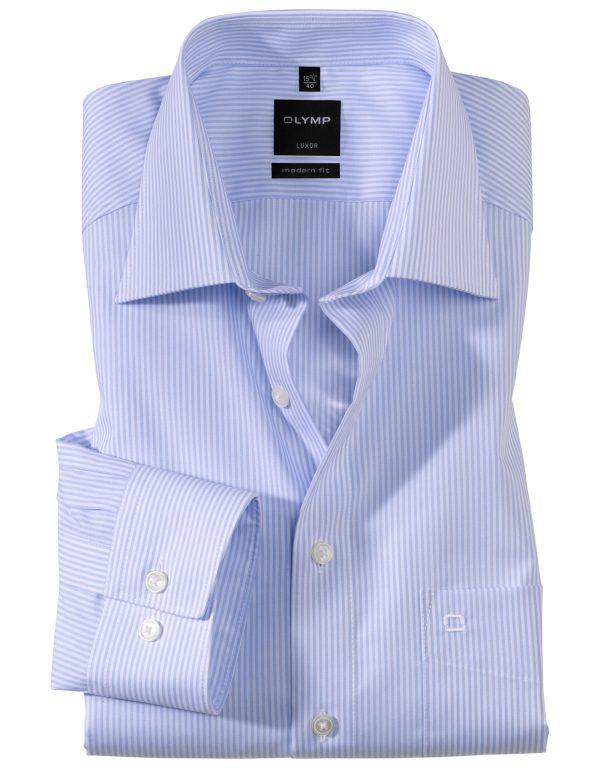 OLYMP Luxor modern fit Fine Stripe Ex. Long Sleeve New Kent