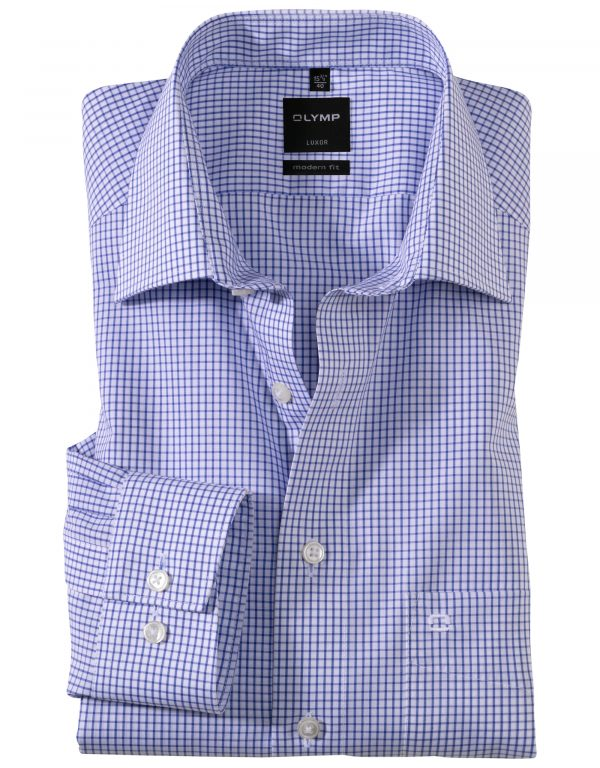 OLYMP Luxor modern fit Neat Check New Kent