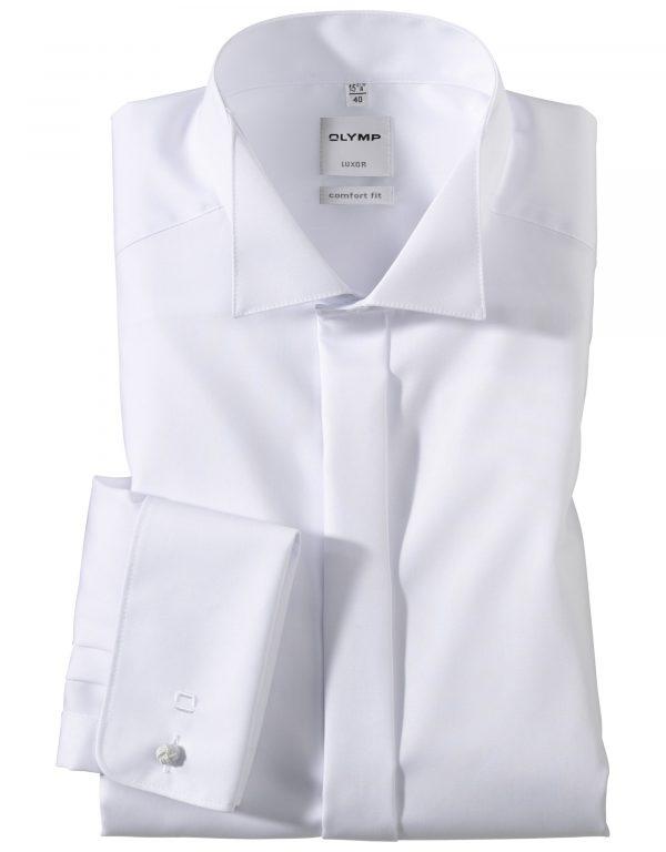 OLYMP Luxor soiree Uni comfort fit Wing Collar
