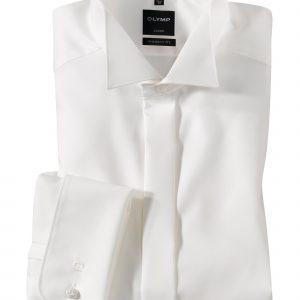 OLYMP Luxor soiree Uni modern fit Wing Collar