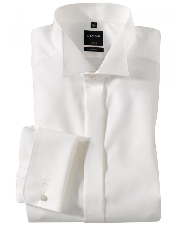 OLYMP Luxor soiree Uni modern fit Wing Collar Ex. Long