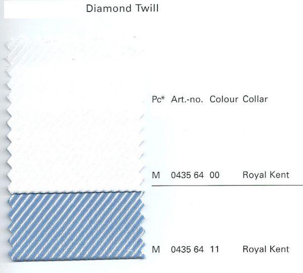 OLYMP No. Six Long Sleeve Diamond Twill Royal Kent