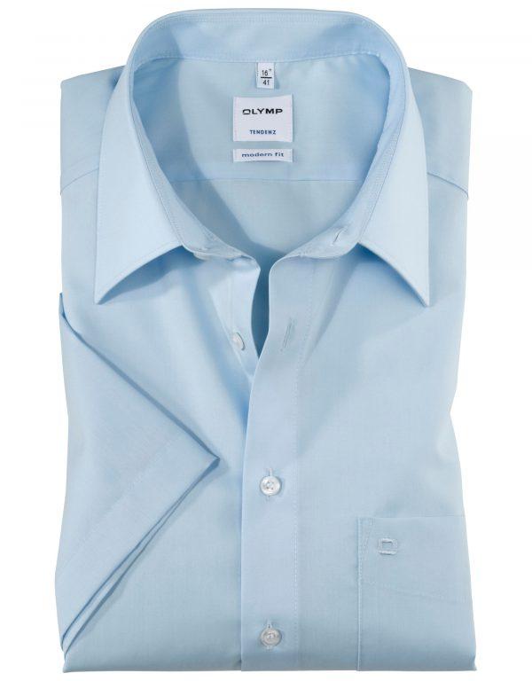OLYMP Tendenz Short Sleeve Uni - New Kent Collar