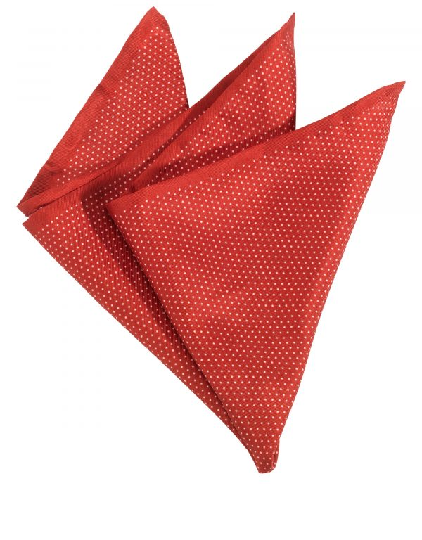 Pocket Square - Dotted Silk